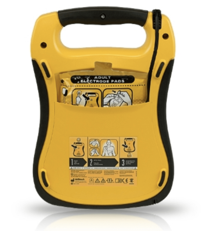 Defibtech Lifeline AED bagfra