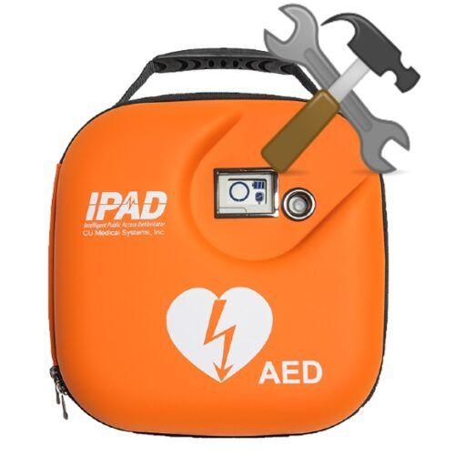 Service af hjertestarter IPAD SP1
