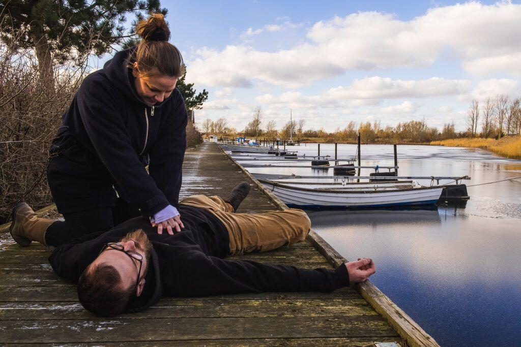 Førstehjælpskursus ved vandet