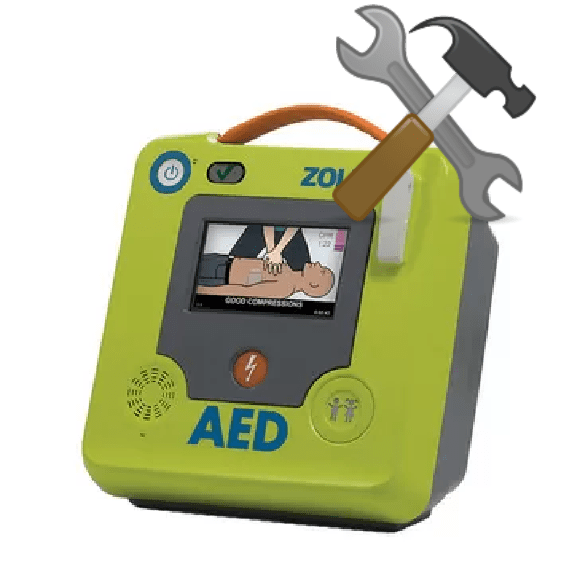 Service af hjertestarter Zoll AED