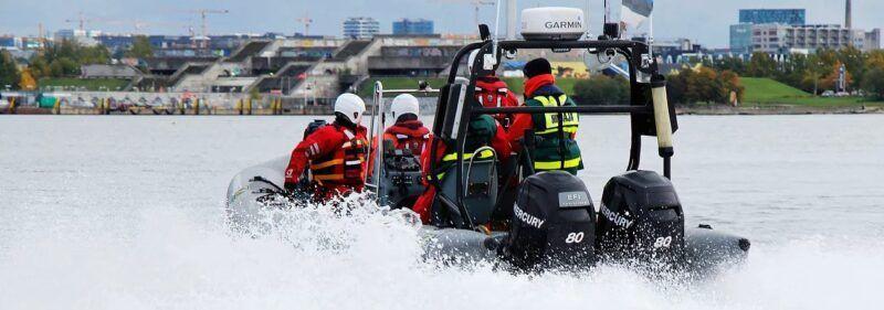 Førstehjælp ombord på mindre fartøjer og I søsport
