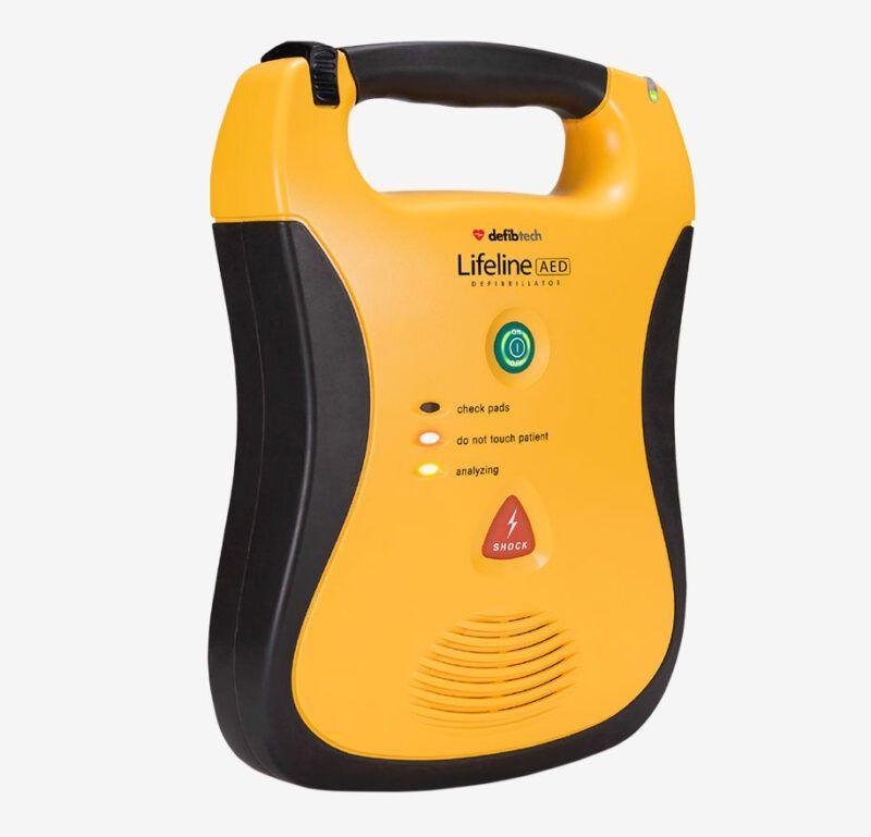 Defibtech Lifeline AED fra siden