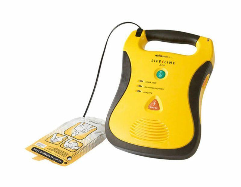 Defibtech Lifeline AED med elektroder